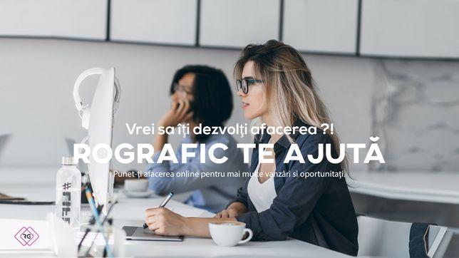 Creare site web-Site de prezentare-Site online - Design - Preturi mici