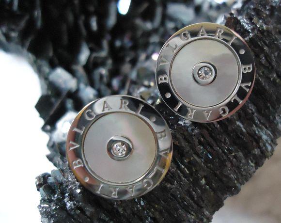 Cercei dama argintii cristale pietre semipretioase sidefate holografic