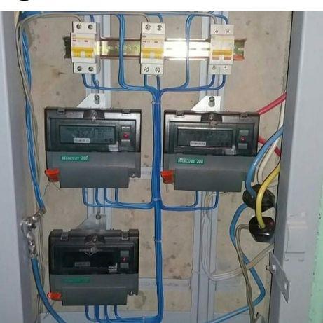 Услуги электрика. Все виды работ.