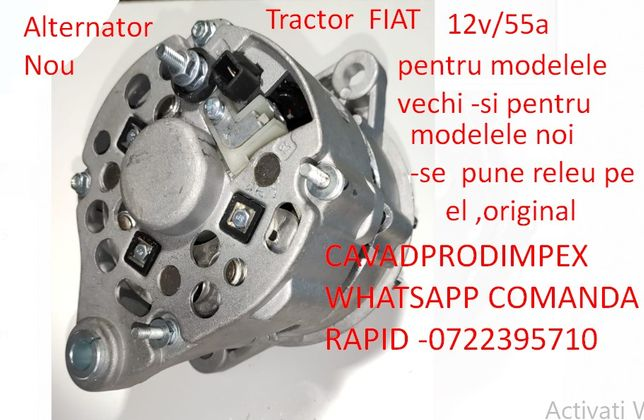 Alternator tractor Fiat 12volti modelul original