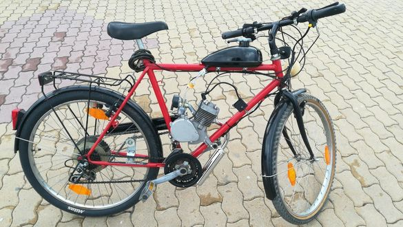 Монтирам бензинов двигател Zeda на ваш велосипед