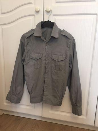 Продам военную школьную рубашку