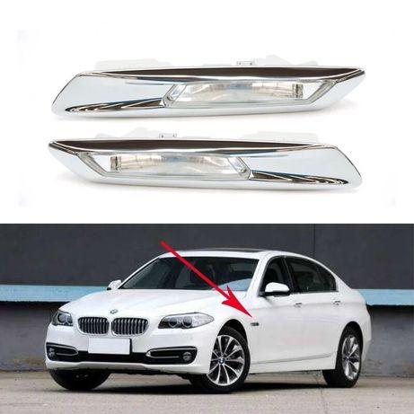167 BMW F10 F11 страничен мигач лайсна ляв десен Бмв ф10 ф11 Led