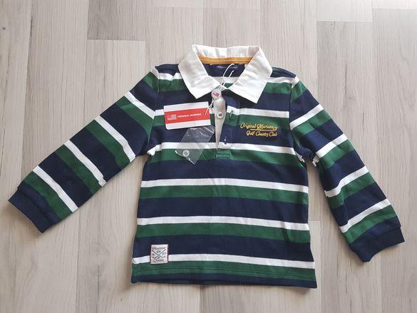 Нова блузка за момченце ORIGINAL MARINES НАМАЛЯМ НА 10лв
