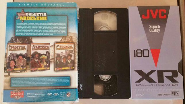 Casete video și DVD-uri