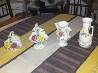 Продавам порцеланови канички с рози и цветя