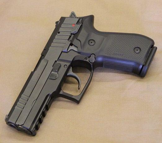 Pistol Airsoft DIN FIER *Arc Puternic*Manual spring metal FARA PERMIS