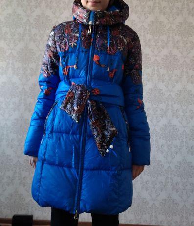 Зимняя куртка.новая почти. Рост 158-163