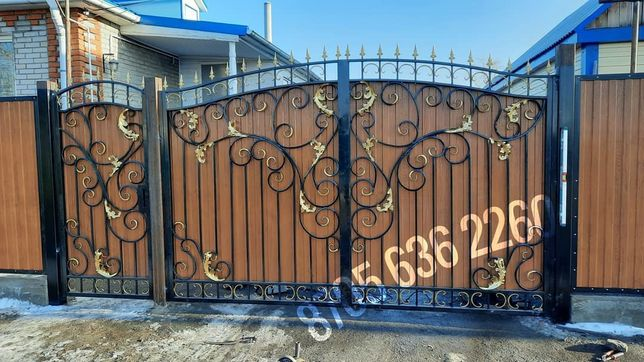Ворота, решетки оградки лофт LOFT сварка