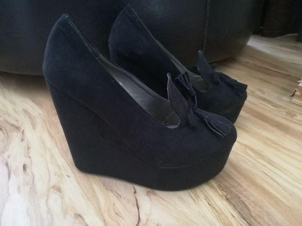 Pantofi negri Botinelli Marimea 39