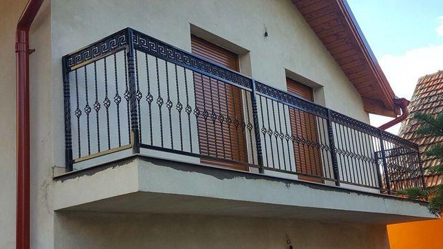 Porti,garduri,balustrade,copertine din fier forjat