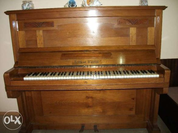 Продавам пиано Ullrich,Dresden