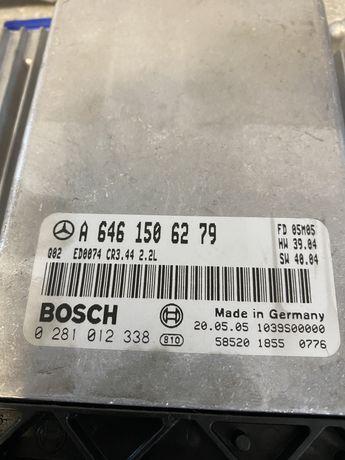 ECU Calculator motor Mercedes C220 CDI Euro 4 Facelift