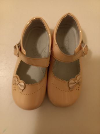 Pantofiori Anne Bebe din piele