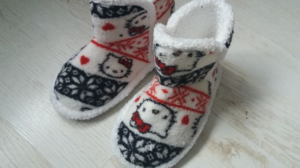 Детски топли пантофи