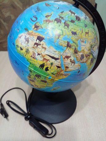 Продам глобус интерактивный