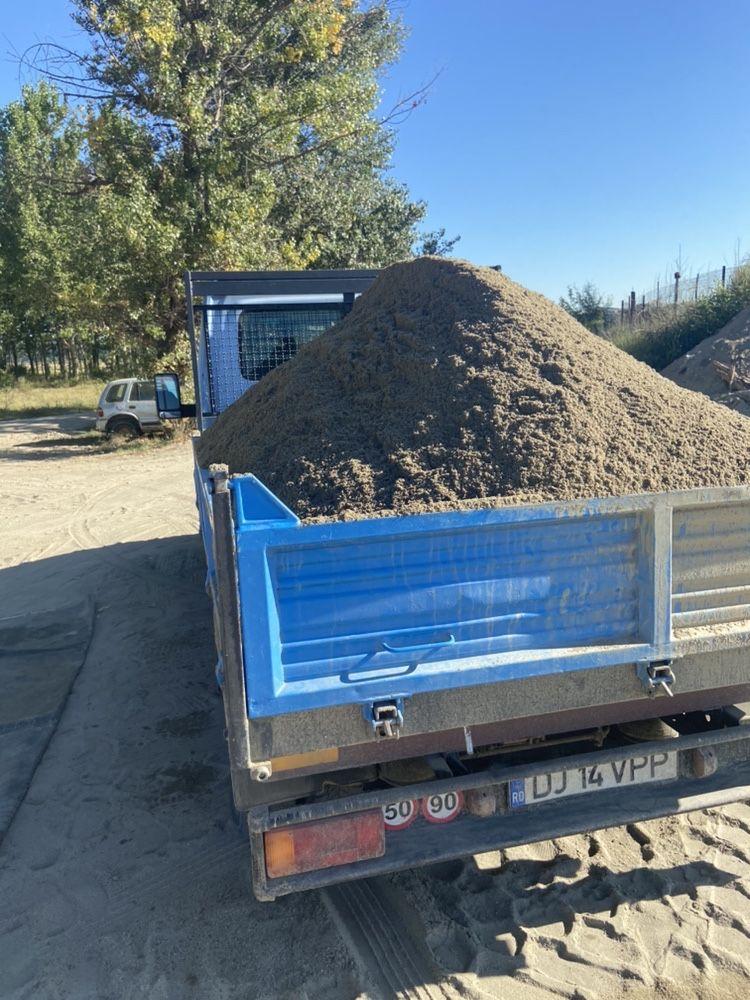 Transport Nisip,sort,balast,pamant negru  Calitate/Cantitate garantat!