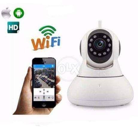 IP мрежова Камера безжична V380 P2P с 2 антени за видеонаблюдение