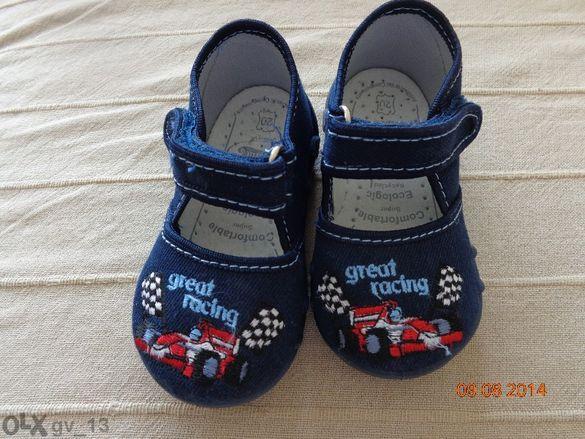 Нови бебешки пантофи