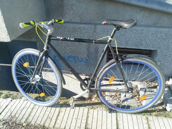 Продавам алуминиев велосипед/колело фикси/сингъл спийд Style.