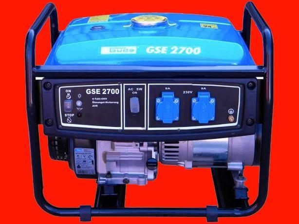 Generator de benzină pentru 2,3 kW GUDE GSE 2700