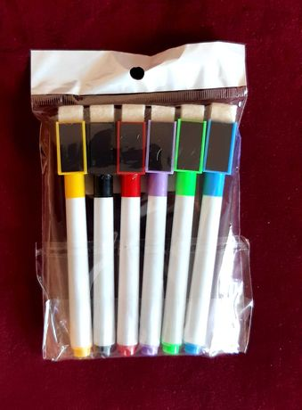 Набор маркеров из 6 шт. для магнитной доски