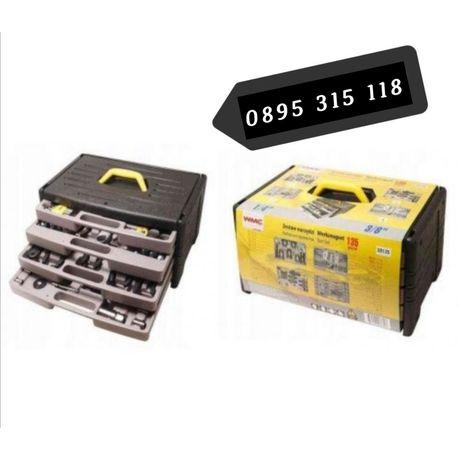 WMC куфар с инструменти -135части