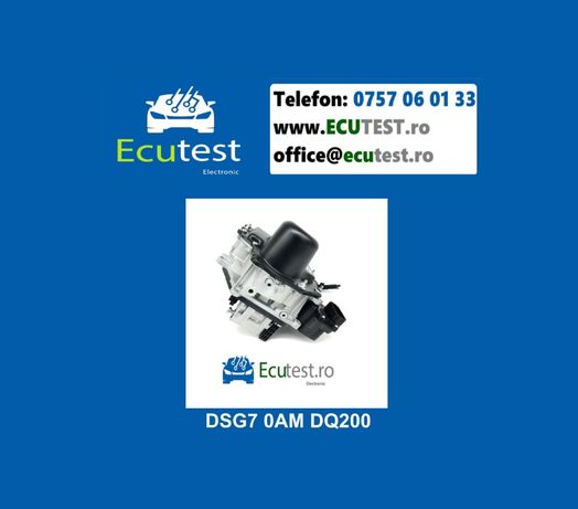 Reparatii electronice cutii automate DSG7 DQ200 0AM 0CW si DQ500 0BH