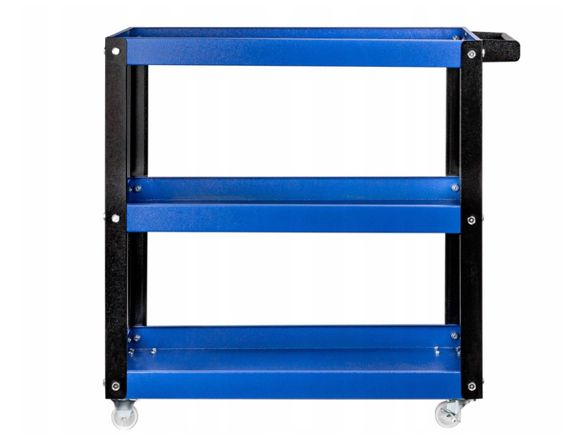 Шкаф количка за инструменти с 3 рафта (ПРОДАЖБИ НА ЛИЗИНГ)
