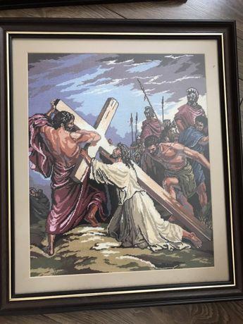 Goblen Iisus Hristos Golgota