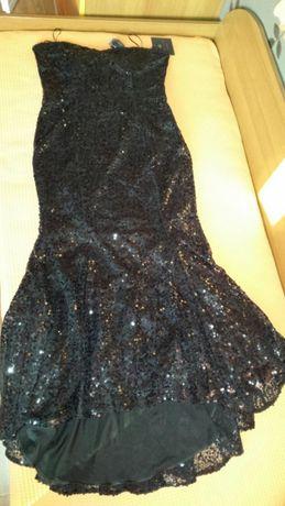 Официялна рокля с паети