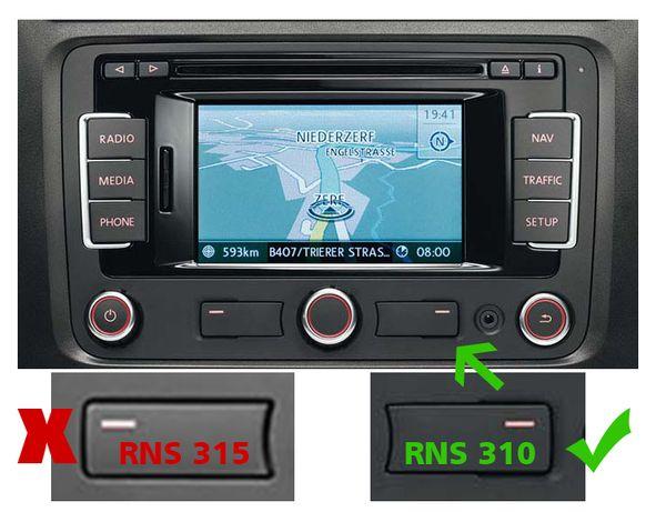Harti navigatie VW RNS310 Passat B6 Golf Tiguan EUROPA ROMANIA 2020