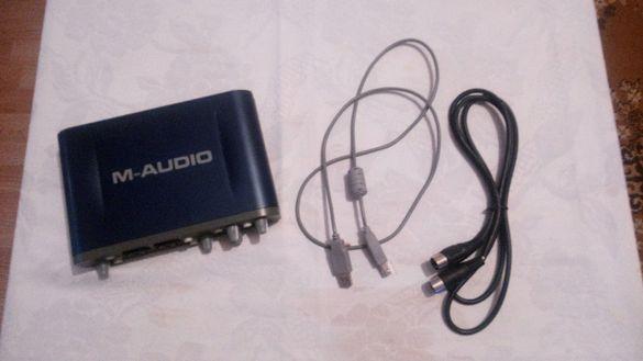 Звукова карта M-Audio fast track pro