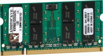 Memorie RAM SODIMM 2GB DDR2 667MHz Kingston - impecabila - ofer PROBA