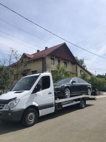 Tractari Auto Asistenta Rutiera Platforma Autoutilitare  A1 Sibiu