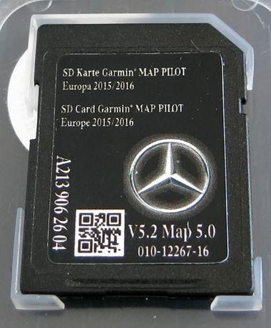 Card Harta Navigatie Mercedes C V GLC GLK Garmin Pilot NTG5 2018 Star2