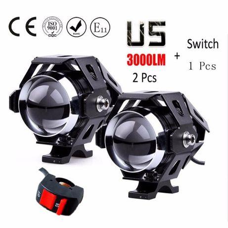 Proiectoare / Proiector Moto CREE U5 LED 125 ptr MOTO / AUTO / ATW