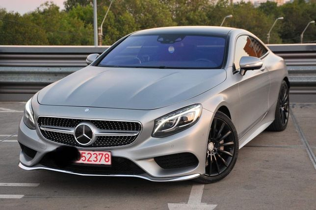 Mercedes S-Coupe 4 Matic