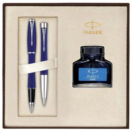 Set Stilou & Pix Parker Urban Premium Penman Blue CT [neatinse]