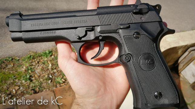 Pistol airsoft (DE INALTA CALITATE)pe CO2,cu bile 6.08mm SUPER PRET !!