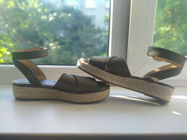 Продам кожаные сандали Michael kors, оригинал