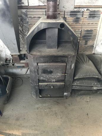 Печка с комбинирана горелка