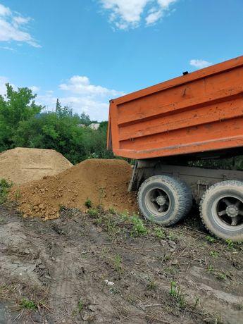 Доставка песка гравия