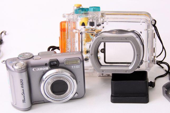 Canon Powershot A620 + Carcasa submersibila