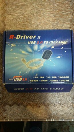 Адаптер для подключения HDD/DVD R-Driver II USB 2.0 to IDE