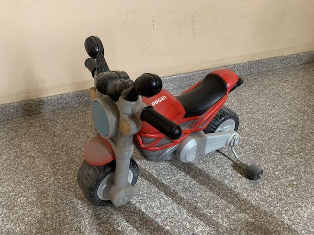 Мотоцикл самокат для маленьких детей