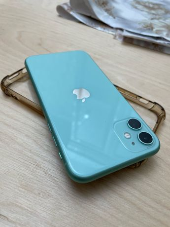 Iphone 11 зеленный