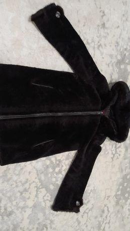 Шуба с норкой, сапоги кожаные, шуба зимняя