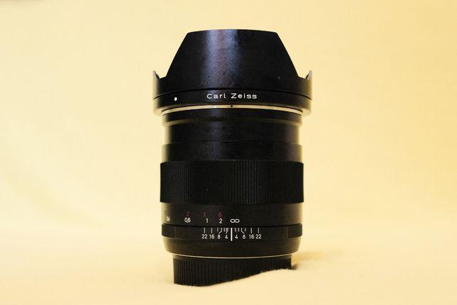 Carl Zeiss Distagon T* 25 mm f 2 ZE montura Canon EF