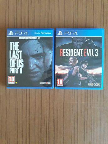 The last of us 2 şi Resident evil 3